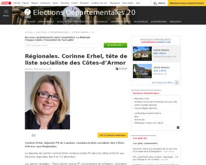Corinne ERHEL