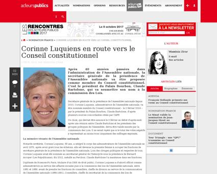 Corinne LUQUIENS