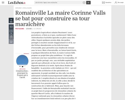 21773 690 ECH romainville la maire corin Corinne