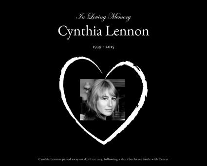 cynthialennon.memorial Cynthia