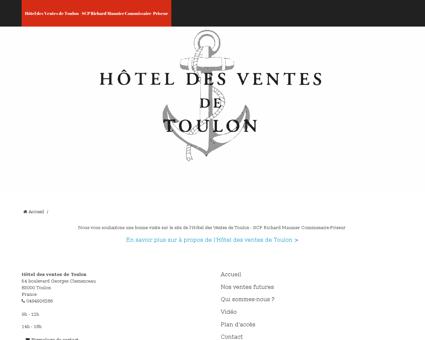 hoteldesventesdetoulon.com Cyrille