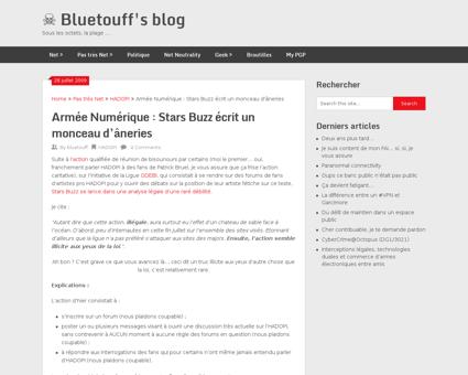 Armee numerique stars buzz ecrit un monc Damien