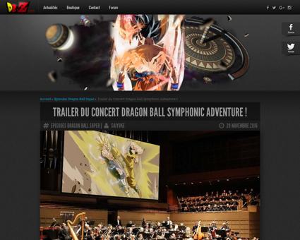 Trailer concert dragon ball symphonic ad Damien