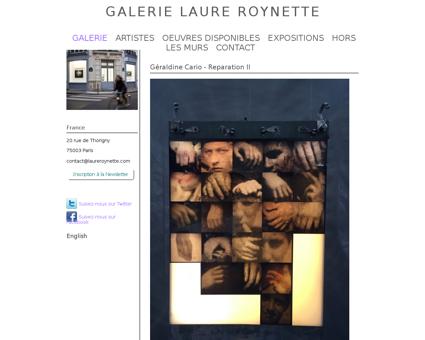galerie art paris roynette.com Damien