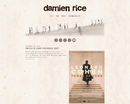 damienrice.com Damien