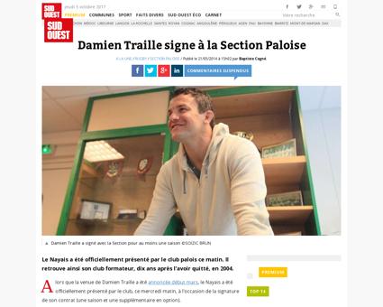 Damien TRAILLE