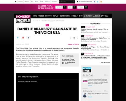Danielle bradbery gagnante de the voice  Danielle