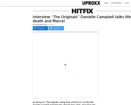 Interview the originals danielle campbel Danielle
