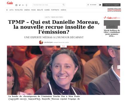 Danielle MOREAU