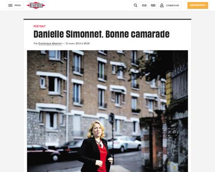 Danielle simonnet bonne camarade 986247 Danielle