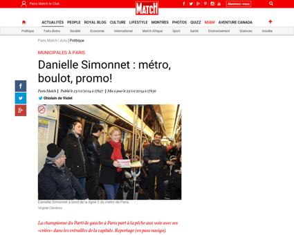 Municipales a Paris Danielle Simonnet me Danielle