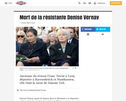 Denise VERNAY