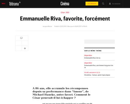 Emmanuelle riva favorite forcement,93828 Emmanuelle