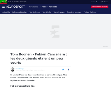 Fabian cancellara rider profile Fabian