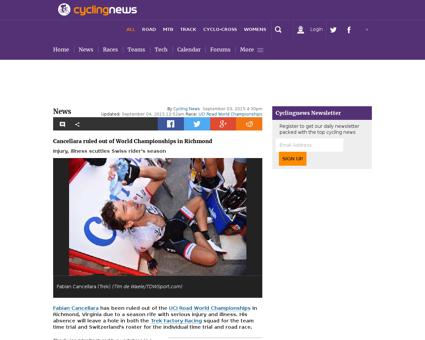 Cancellara inducted to laureus world spo Fabian
