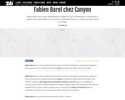 Fabien BAREL