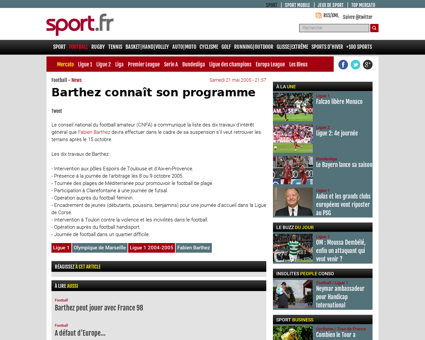 Barthez connait son programme 44129.shtm Fabien