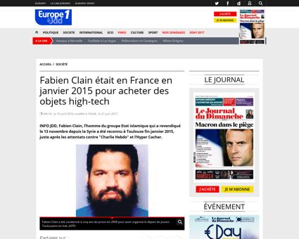 Fabien CLAIN