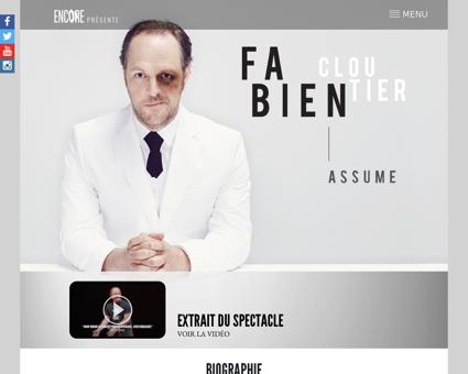 Fabiencloutier.com Fabien