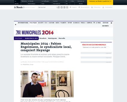 Municipales 2014 fabien engelmann le syn Fabien