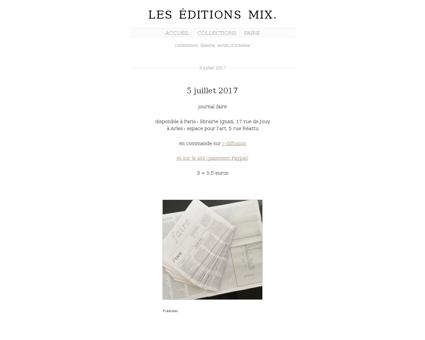 Editions mix.com Fabien