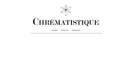 chrematistique.fr Fabien