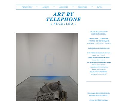 artbytelephone.com Fabien