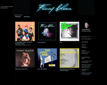 Musique.fannybloom.com Fanny