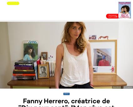Fanny herrero creatrice de dix pour cent Fanny