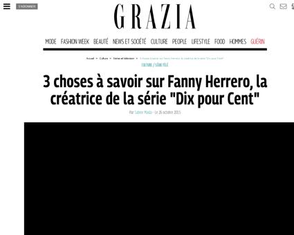 3 choses a savoir sur fanny herrero la c Fanny