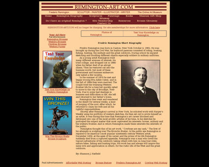 Remington%20biography Frederic