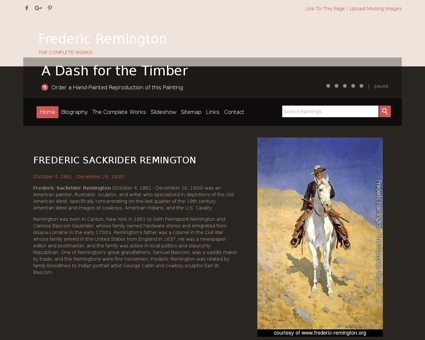frederic remington.org Frederic