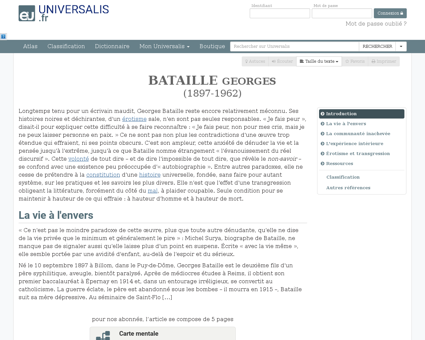 Georges bataille Georges