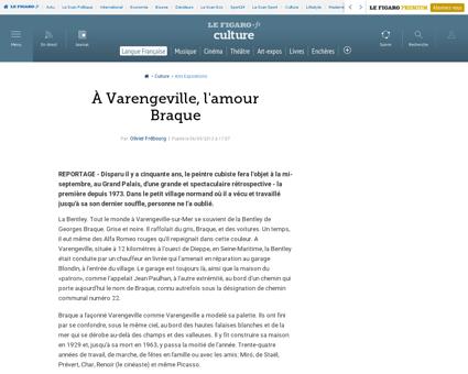 03015 20130906ARTFIG00449  varengeville  Georges