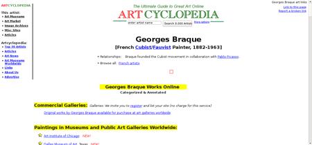Braque georges Georges