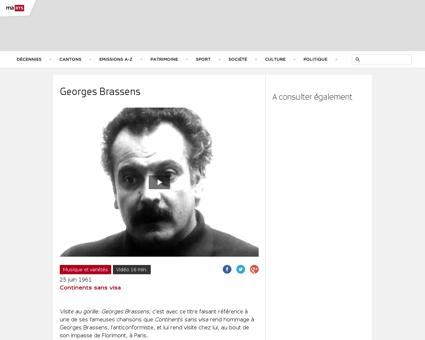3467062 georges brassens Georges