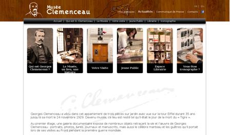 Musee clemenceau.fr Georges