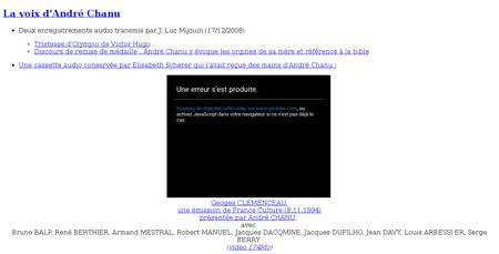 Chanu Georges