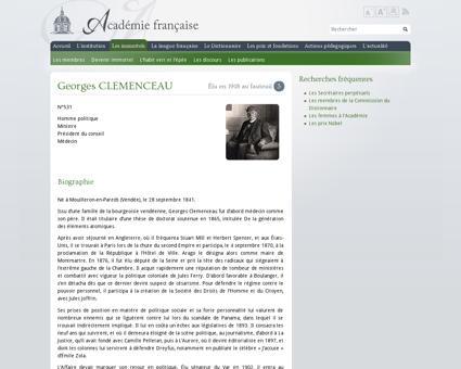 Georges clemenceau Georges