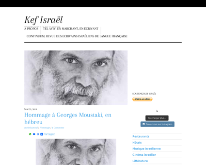 Hommage a georges moustaki Georges