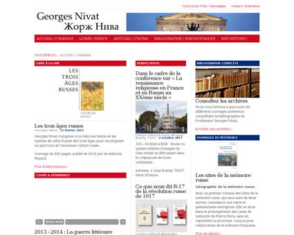 Nivat.free.fr Georges