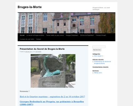 bruges la morte.net Georges