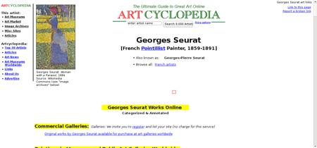Seurat georges Georges
