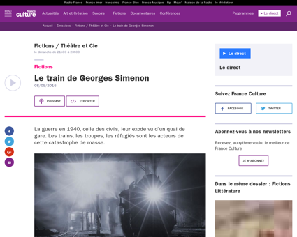 Le train de georges simenon Georges