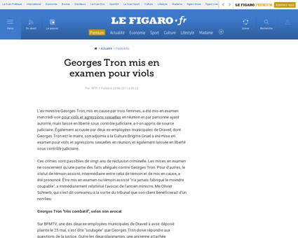 courrier picard.fr Georges