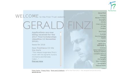 geraldfinzi.org Gerald