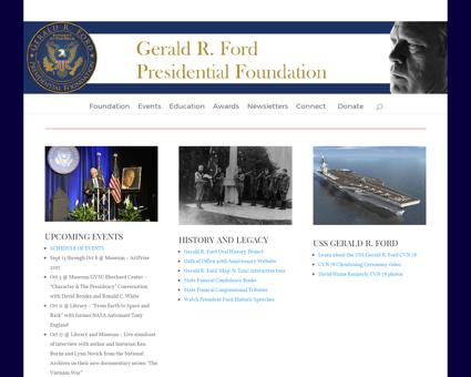 Geraldrfordfoundation.org Gerald