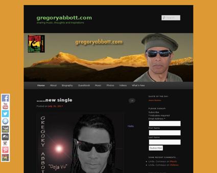 gregoryabbott.com Gregory