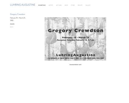 Gregory crewdson Gregory