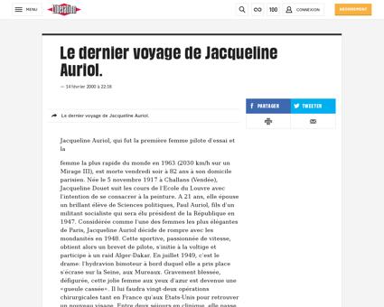 Le dernier voyage de jacqueline auriol 3 Jacqueline